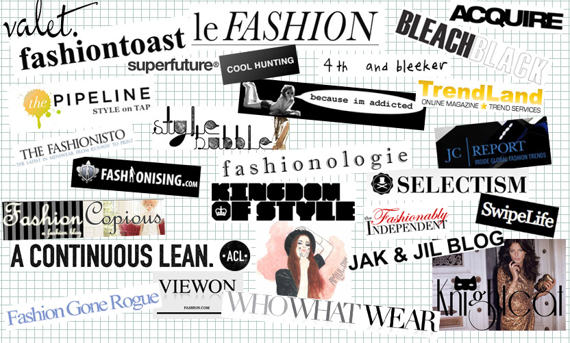 Fashion-blogs-logos